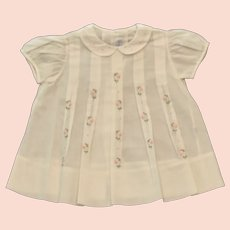 Heirloom Madeira Handmade 18mos Girls Embroidered Portugal Dress