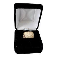 Diamond 14K Gold Ring Ladies 1.0 TCW Fancy Anniversary Wedding Band