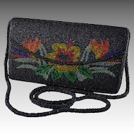 Fancy Maui Floral Beaded Evening Handbag