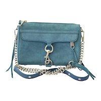 Brushed Suede Rebecca Minkoff Cross-Body Handbag