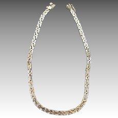 Mexico Byzantine Heavy Decorative Link Chain Necklace