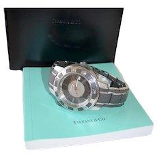 Tiffany Mark T-57 Resonator Chronograph Analog Divers Sports Watch