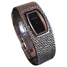 Nina Ricci Stainless Steel Mesh Bracelet Watch Paris, France
