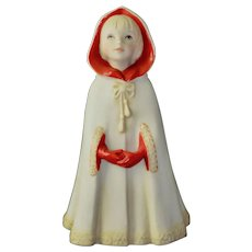 Cybis Figurine Porcelain Little Red Riding Hood Vintage 70's Collectible