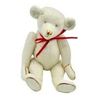 Lenox China Limited Series Smithsonian Centennial Teddy Bear Sculpture