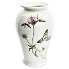 Portmeirion Fine Botanic Gardens Floral CYCLAMEN Medium Porcelain Vase