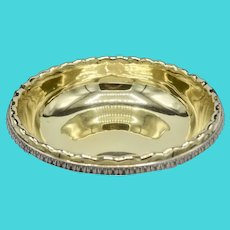 Tiffany & Co Sterling Silver / Gilt Centerpiece Bowl Charles L. Tiffany Circa 1892