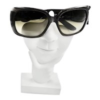 Exotic XL Yves Saint Laurent Snake Skin Pattern Sunglasses