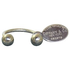 Estate Sterling Tiffany Key Ring