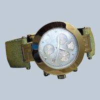 Retired Versace XLC 99 Chronograph Fashion Watch
