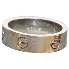 18K 1996 Love Ring Cartier