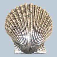 Estate Sterling Danecraft Shell Pin