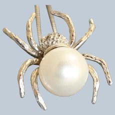 Estate 14K 10 mm Pearl Enhancer/Pendant