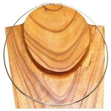 Estate 14KW Adjustable Collar Necklace