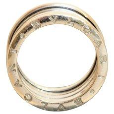 Estate 18K Bulgari B-Zero 5 Band Ring