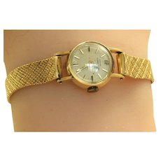 Vintage Hand Wind Girard Perregaux 18K Ladies Watch