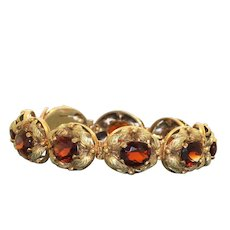 Estate 18K @27CTW Madiera Citrine Berry Bracelet