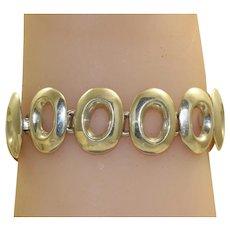Estate Sterling Mexican Bracelet