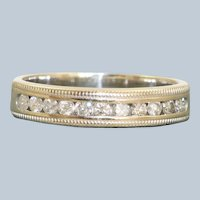 Estate 14KW Half Eternity Band