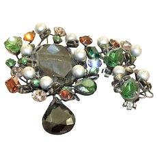 Estate Schaperelli Mixed Jewel Set