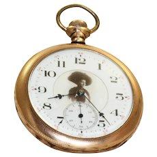 1905 Dueber Grand 17 Jewel Gold Filled Pocket Watch
