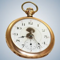 1905 Dueber Grand 17 Jewel Gold Filled Pocket Watch