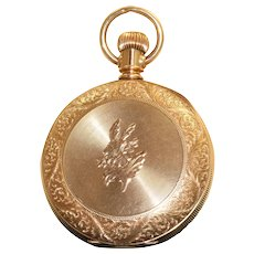 1887 Waltham New York Standard 18s Hunter Pocket Watch