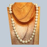Estate 14K 12 mm Fresh Water Pearls
