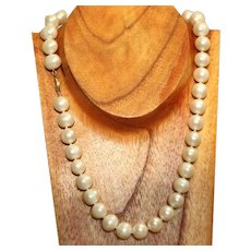 Estate 14K 12 mm Fresh Water Pearls