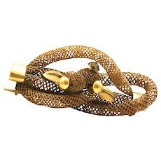 Vintage Gold Filled Hair Brooch