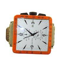 Estate Modernist Nautica Tachymeter 500 Watch