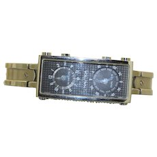 Estate Nautica Dual Time Water Resistant Watch