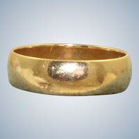 Estate 14K Yellow Gold 5 mm Band