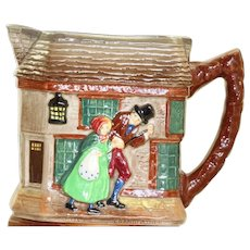 "Estate Royal Doulton ""Old Curiosity Shop"" Pitcher"