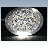 Arts and Crafts Sterling Pin by Kulicraft