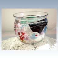 Handblown Art Glass Vase