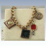 Victorian 5 Charm Bracelet