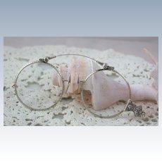 Edwardian 14KW Filigree Folding Glasses