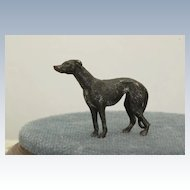 Estate Cold Painted Bronze Whippet
