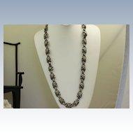 Versatile Vintage Mexico Sterling Necklace/Bracelet