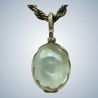 Estate Sterling Clear Locket