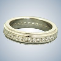 Estate 18 KW 0.75 CT Eternity Band