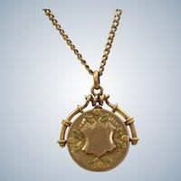 10K Tri-Colored Gold Locket