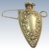 Silver Chatelaine Perfume Vial