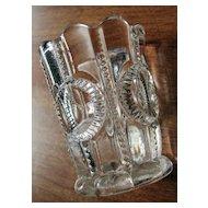 Eapg Co-operative Flint Glass, 'Co-op's Columbia' toothpick