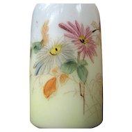 Wavecrest, Mt Washington Art glass Victorian shaker, C.F. Monroe
