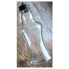 Eapg Victorian Glass shaker, Atterbury Saloon pepper