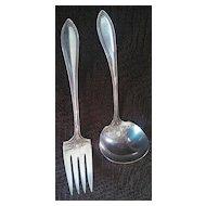 Vintage Community Silver elegant serving utensil set