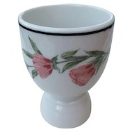 Southern Pacific Railroad egg cup, Prairie Mountain Wildflowers, RRBS