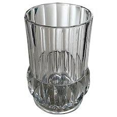 """Cordova"", ""Prism Buttress"" celery vase, O'hara Glass"
